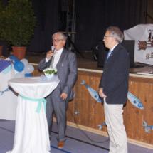 Eberhard Jäger, 1. Vorsitzender der Wassersportvereins Wangen e.V.